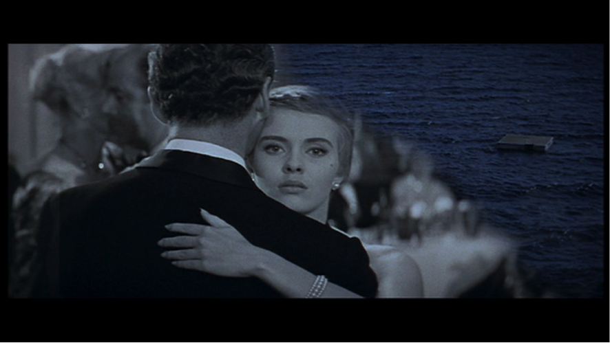 Frame grab from BONJOUR TRISTESSE (Otto Preminger, 1958)