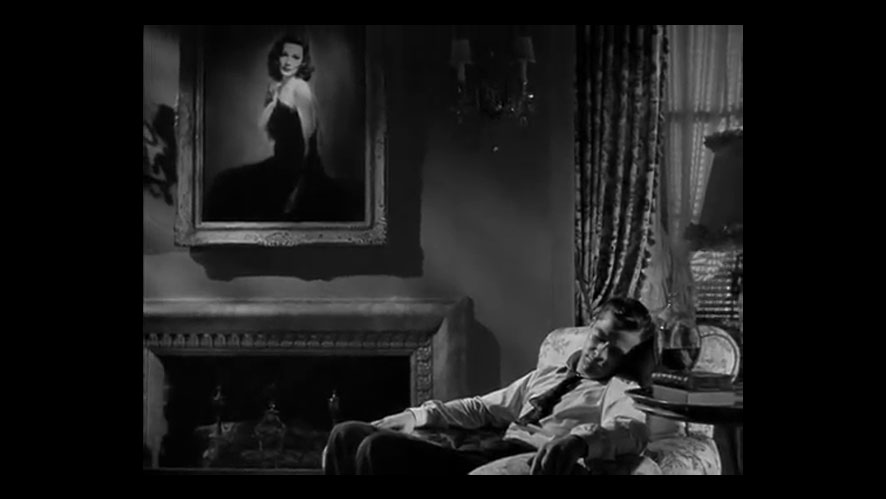 Frame grab from LAURA (Otto Preminger, 1944)