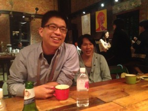 TIDF director Wood Lin, with his wife Kite Chen.