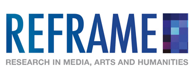 Logo for REFRAME: Media, Arts and Humanities