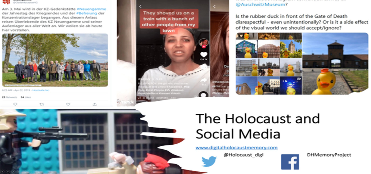 BANNER Holocaust and Social Media