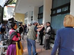 filmking a scene