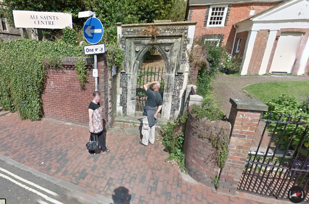 Google Streetfinder view, Lansdown Road, Lewes