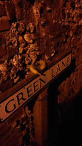 Green Lane at night, photographed by Janette Fowler