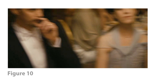 Figure 10: All images from MELANCHOLIA derive from frame grabs from the DVD version of the film: © 2011 Zentropa Entertainments27 ApS, Memfis Film International AB, Zentropa International Sweden AB, Slot Machine SARL, Liberator Productions SARL, Arte France Cinéma, Zentropa International Köln GmbH. DVD: Magnolia Home Entertainment. They appear here solely for Fair Dealing (and Fair Use) purposes of scholarship and criticism.