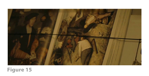 Figure 15: All images from MELANCHOLIA derive from frame grabs from the DVD version of the film: © 2011 Zentropa Entertainments27 ApS, Memfis Film International AB, Zentropa International Sweden AB, Slot Machine SARL, Liberator Productions SARL, Arte France Cinéma, Zentropa International Köln GmbH. DVD: Magnolia Home Entertainment. They appear here solely for Fair Dealing (and Fair Use) purposes of scholarship and criticism.