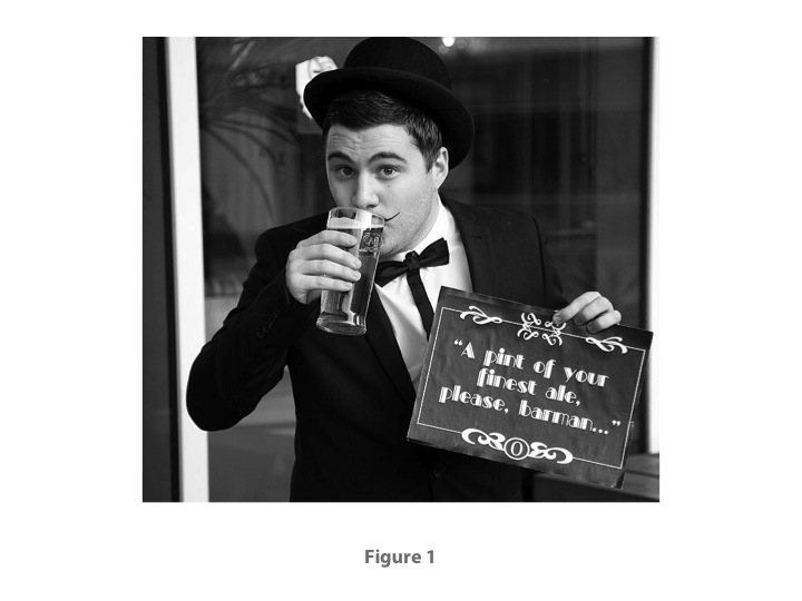 Fig. 1:  From THE ARTIST (Michael Hazanavicius, 2011)