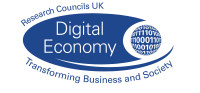 Supported by Digital Economies - Research Councils UK